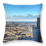 Looking East...the Rand Building Winter 2013 Throw Pillow