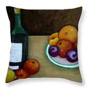 Looking For Cezanne Throw Pillow