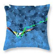 Looking For Lightening Throw Pillow