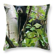 Looking For Mom Throw Pillow
