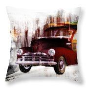 Looking For Surf City Throw Pillow