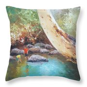 Looking For Tad Poles Throw Pillow