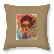 Looking For The Summer Throw Pillow