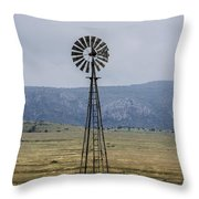 Looking For The Wind Throw Pillow