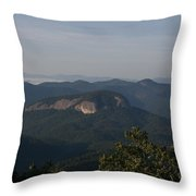 Looking Glass Mountain Throw Pillow