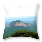 Looking Glass Rock Throw Pillow