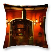 Looking In Pat O'brien's Throw Pillow
