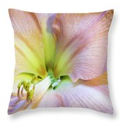 Looking Into Lavender Shadowsi Throw Pillow