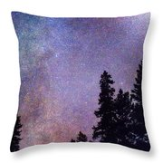 Looking Into The Heavens Throw Pillow