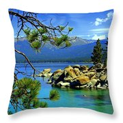 Looking North Throw Pillow