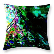 Looking Out From Within Throw Pillow