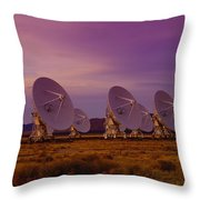Looking Outward Throw Pillow
