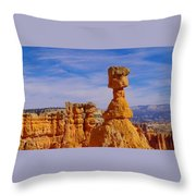Looking Over Sunset Point  Throw Pillow