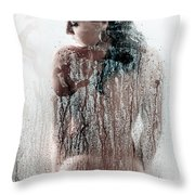 Looking Through The Glass 3 Throw Pillow