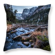 Looking To Odessa Throw Pillow