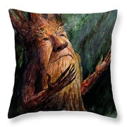 Looking To The Light Throw Pillow