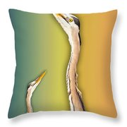 Looking Up 1 Of 2 Throw Pillow