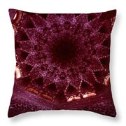 Looking Up Alhambra Stalactite Dome Throw Pillow