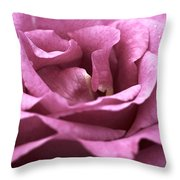 Looking Up - Dusty Rose Throw Pillow