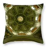 Looking Up Salzburg Cathedral 2 Throw Pillow