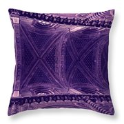 Looking Up Siena Cathedral Throw Pillow