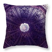 Looking Up Sienna Throw Pillow