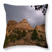 Looking Up To The Heros Throw Pillow
