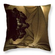 Looking Up Toulouse Cathedral Throw Pillow