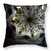 Lookng Up Hall Of The Abencerrajes Throw Pillow