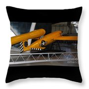 Loon Missile Throw Pillow