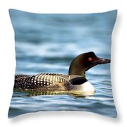 Loons 7 Throw Pillow