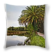 Loop Reflect Throw Pillow