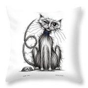 Loop Tail Throw Pillow