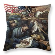 Lopez Colonel Shaw, 1943 Throw Pillow