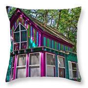 Lord And Taylor In Asbury Grove In South Hamilton-massachusetts Throw Pillow