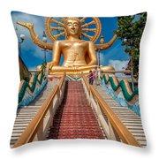Lord Buddha Throw Pillow