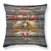 Lord Chesterfield Ale Throw Pillow
