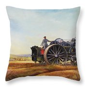 Lord Kitchener And General French Throw Pillow by Dudley Pout