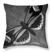 Lord Of The Butterfly Throw Pillow