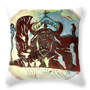 Lord Of The Dance Throw Pillow by Gloria Ssali