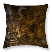 Lord Of The Netherworld Throw Pillow