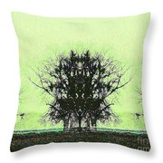 Lord Of The Trees Throw Pillow