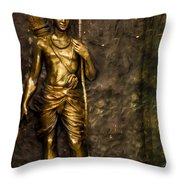 Lord Sri Ram Throw Pillow