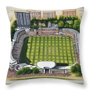 Lords Cricket Ground Throw Pillow