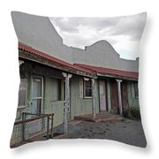Lordsburg Nm Hotel 1 Throw Pillow