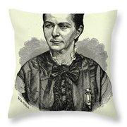 Loreta Janeta Velazquez (1842-1897) Throw Pillow