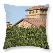 Lorimar Above The Vines Throw Pillow