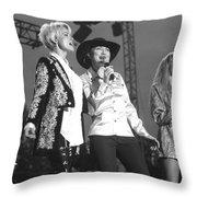 Lorrie Morgan Pam Tillis And Carlene Carter Throw Pillow