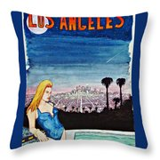 Los Angeles 1992 Throw Pillow