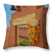 Los Chiles Throw Pillow